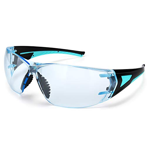 Mpow Schutzbrille-Arbeitsbrille, Augenschutz-Brille mit beschlagfreien, kratzfesten, antispeichel, klaren Vollsichtbrille, UV380-Schutz, Schutzgläser mit Antibeschlag-Beschichtung
