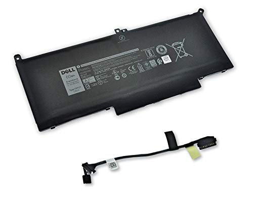 Dell Latitude 7280 60Wh 4-Cell Battery with Interface Cable DM3WC 4W0J9