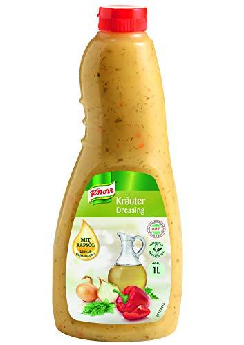 Knorr Kräuter Dressing (klares Salatdressing mit Dill und Petersilie) 3er Pack (3 x 1 l)