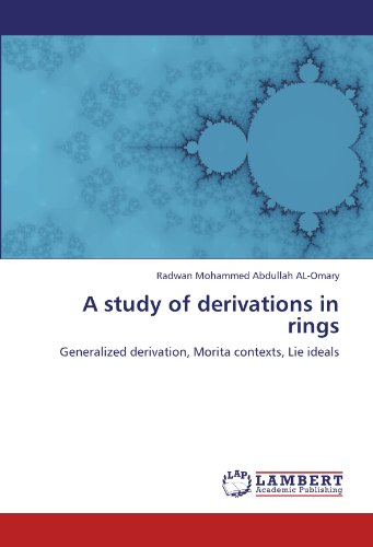A study of derivations in rings: Generalized derivation, Morita contexts, Lie ideals