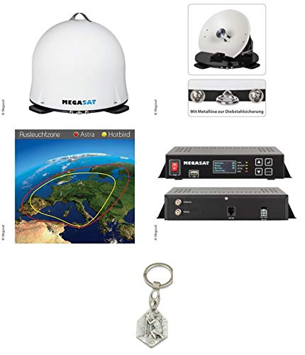 Zisa-Kombi Megasat Campingman Portable 2 (932988496001) mit Anhänger Hlg. Christophorus