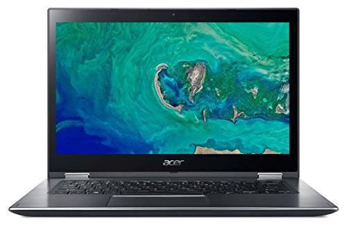 Acer Spin 3 SP314-51-52ZL - Ordenador portátil de 14' Full HD (Intel Core i5-8250U, 4GB RAM, 1TB HDD + 16GB Intel Optane, UMA, Windows 10) Gris- Teclado QWERTY Español