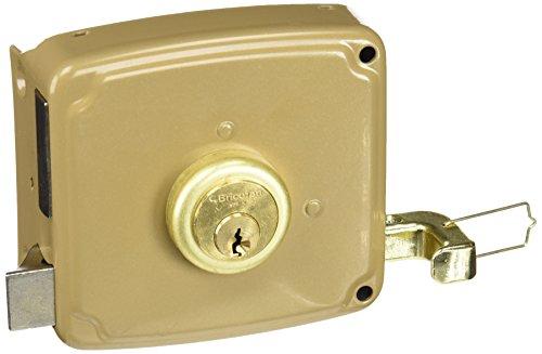 Cofan 14940100I Cerradura sobreponer con cerradero izquierda, 100 mm