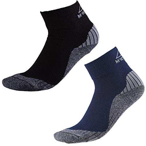 McKINLEY Herren Strumpf Flo Quarter Socken, Navy Dark, 42-44