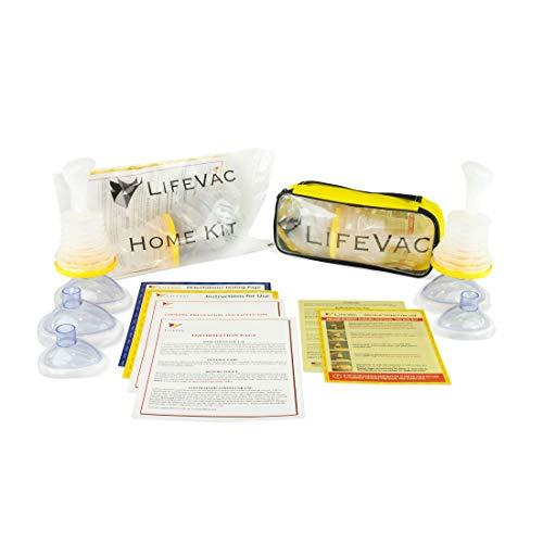LifeVac Home and Travel Combo Kits