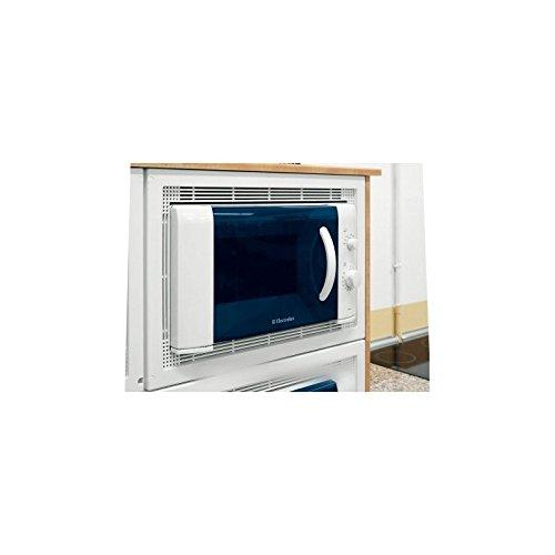 Electrolux–Kit de empotrar para Micro ondas color blanco para Micro microondas Electrolux
