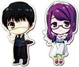Great Eastern Entertainment 50590 Tokyo Ghoul: Kaneki and Rize SD Pin Games, One Size, Multicolor