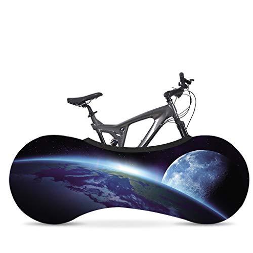 Wlehome Fahrrad Radhaus Staubschutzhülle, Sternenhimmel Indoor Fahrradabdeckung, Sonnenschutz Anti-Staub Mountainbike Aufbewahrungstasche, hält Böden und Wände schmutzfrei