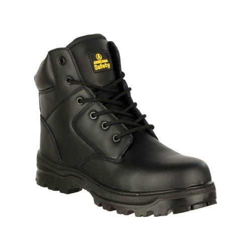 Amblers - Botas de Trabajo Seguridad FS006C para Chico Hombre (44 EU) (Negro)