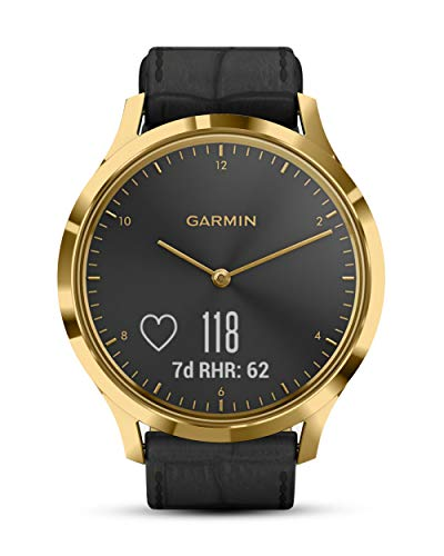 Garmin Reloj inteligente con rastreador de ejercicios (010-01850-AC) Negro