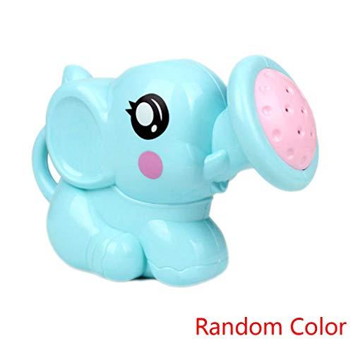 Floridivy Willekeurige kleur Pasgeboren Plastic Elephant Gieter Badspeeltjes Babyzwemmen Badkamer Bad Douche Tool Nevel van het Water Toys