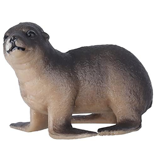 BOLORAMO Modelo De Animal Marino, Modelo De Cachorro De Animal Marino, Modelo De Animal Marino De Simulación para Decoración De Escritorio para El Hogar para Niños