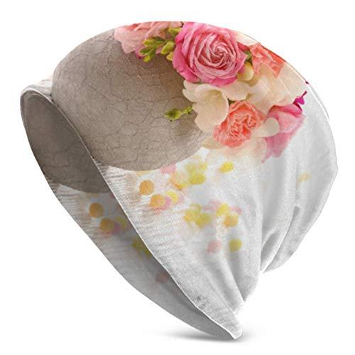 Peeeenny Beeen Flores de Colores en una Maceta de cerámica Tapa de...