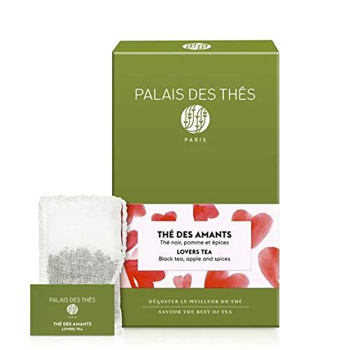 Palais des Thés, Signature Tea Blends Collection, The des Amants (Black, Apple, Almond, Cinnamon)