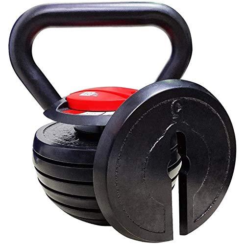 Gululu [10-40LBS Kettlebell Weights Sets,Strength Training Exercise,Solid Cast Iron 15 lb 20 lb 30 lb 35 lbs Kettlebells,Adjustable Kettle Bells Weight Set for Men Women Fitness