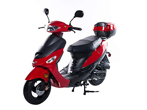 TaoTao ATM-50A1 BLACK 49cc Gas Automatic Scooter Moped...