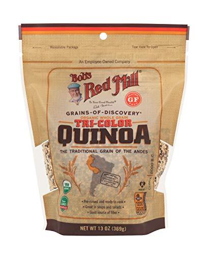 Bob's Red Mill Organic Tricolor Quinoa Grain, 369 g
