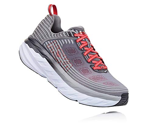Price comparison product image Hoka Bondi 6 1019271-ASGY Alloy / Steel GrayWomens 14 EE