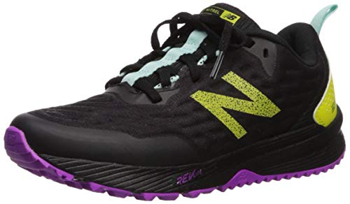 New Balance Women's Nitrel V3 Running Shoe, Iodine Violet/Black, 8.5 W US