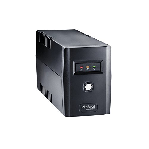 Intelbras XNB 600 VA Nobreak Interactive, 120V, Preto