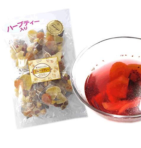大地の生菓 フルーツハーブティー 12個入り 紅茶 セット 食べる ドライフルーツ ギフト ティーバッグ 贈り物 大容量 業務用 お茶 キウイ イチジク オレンジ ベリー