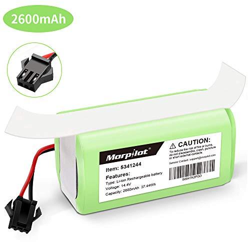 morpilot Batería Reemplazo para Conga Excellence 990, 14.4V 2600mah Li-Ion, Compatible con Conga Excellence, Conga Excellence 990, Conga 950 1090, DEEBOT N79S N79, Eufy RoboVac 11 11S 30 30C 12 35C