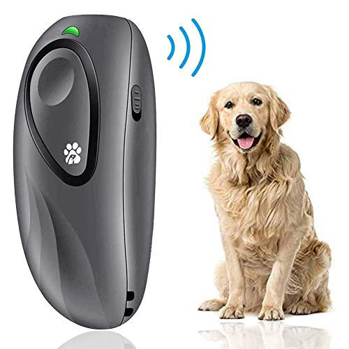 BIG DEAL Ultrasonic Bark Control Device, Anti Barking Devices Variable Frequency Hand-held Stop Dog Barking Device, Dog Barking Deterrent for Dog Behavior Training, Dog Repellent & Barking Control