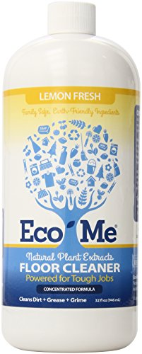 Eco-me Natural Plant-Based Concentrated Multi-Surface Floor Cleaner,...