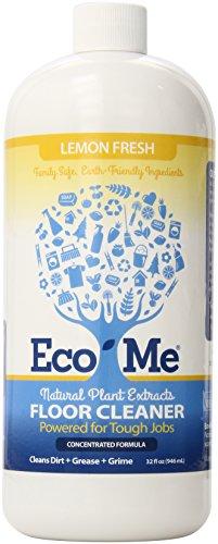 Eco-Me Natural Floor Cleaner, Lemon Fresh, 32 Fluid Ounce