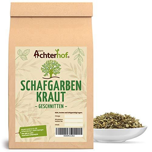 500 g Schafgarbenkraut geschnitten Schafgarbenkrauttee Schafgarbe Kräutertee natürlich vom-Achterhof