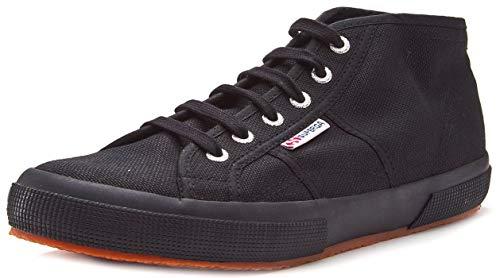 Superga Unisex-Erwachsene 2754-cotu High-Top Sneaker, Schwarz (Full Black 996), 38 EU