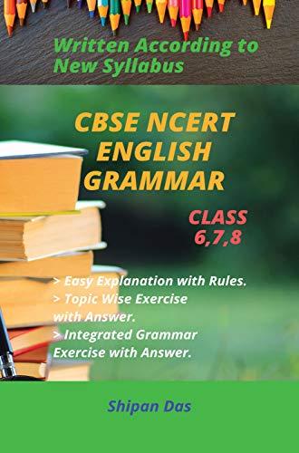 CBSE, NCERT English Grammar - Class 6, Class 7, Class 8. (VI, VII, VIII)