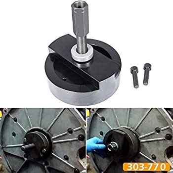 303-770 Rear Main Seal Installer Tool Crankshaft Rear Main Seal and Wear Sleeve Ring Installer Tool Fits for Ford 4.5L 6.0L & 6.4L Diesel Powerstroke