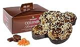 Rinaldini Colomba Pasquale | Paloma de Pascua | Chocolate Negro de Vietman y Naranja Confitada | 1 Kg