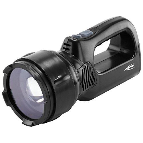 ANSMANN Projecteur rechargeable de travail professionnel HSL 1,3 W / Lampe torche portative directionnelle avec batterie intégrée et aimant / Lampe torche robuste pour le camping, la chasse ou l'atelier
