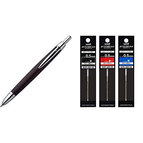 【セット買い】三菱鉛筆 多機能ペン ピュアモルトプレミアム 2&1 0.7 MSE3005 & ボールペン替芯 ジェットストリームプライム 0.5 多色多機能 3色 SXR20005