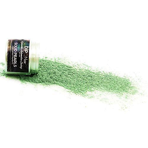 DIPON Epoxidharz Farbpigmente Toxic Green Grün Pearl für Giessharz Beton Seifenfarbe Farbpulver für Nail Art UV Gel Autolack Flüssiggummi Metallic Perlglanz Effekt Schimmer Pulver Pigmente (25 Gramm)