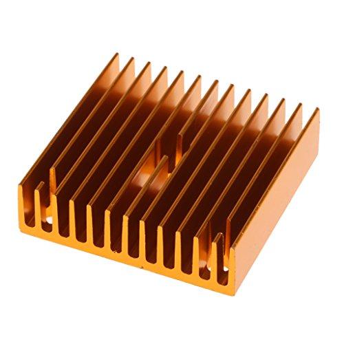 Aleta de Enfriamiento Difusora de Calor Disipador de Calor para Extrusor MK7 / MK8 y Mayoría de Impresoras 3D