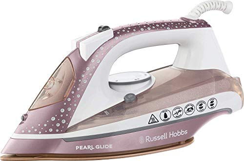 Russell Hobbs Dampfbügeleisen Pearl-Glide-Iron-Rose
