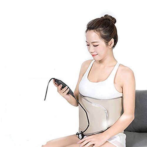 Massage Belt Addominale, Funzione Vibrante Dimagrante Calore Massaggiatore Perdita di Peso Grassa di Rifiuto Che Brucia