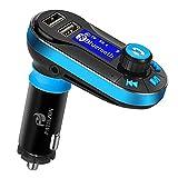 Transmetteur FM Bluetooth Voiture Main Libre Musique MP3 Adaptateur Radio sans Fil Kit