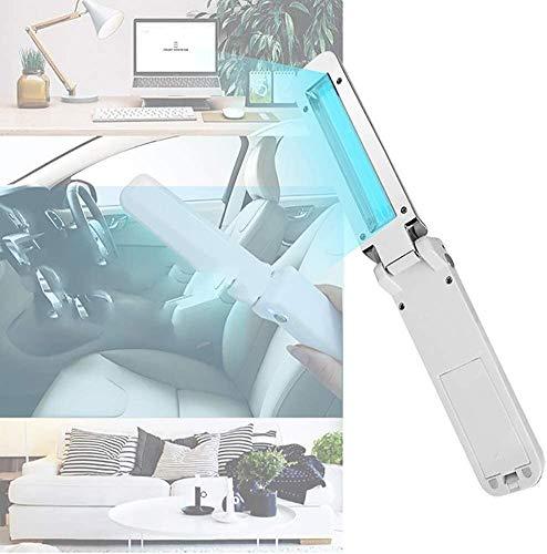 Disinfezione a raggi ultravioletti della luce, della luce UV Sanitizer tenuto in mano pieghevole UV germicida sterilizzazione della lampada Viaggi bacchetta della batteria alimentato