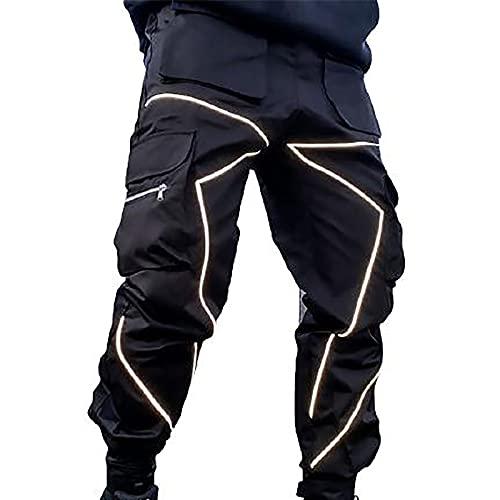 2021 Nuevo Pantalones para Hombre Casuales Moda trabajo pantalones Suelto Pants Jogging Pantalon Fitness Talla grande Pantalones Largos de tendencia de la calle Ropa de hombre Pantalones de Trekking