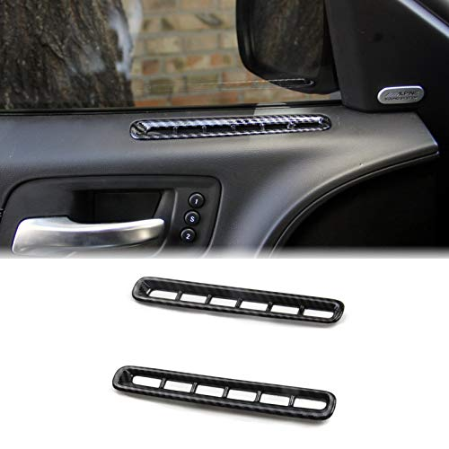 Crosselec Door A/c Vent Panel Air Carbon Fiber Accessories For Dodge Charger 2011+