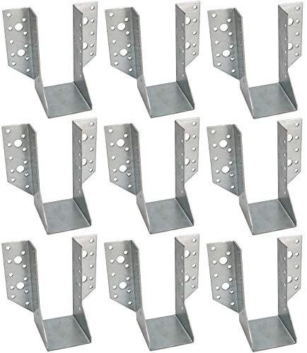 KOTARBAU® 25er Set Balkenschuh Typ A 60 mm Holzbalkenverbinder Balkenverbinder Verbinder für Baukonstruktion außenliegend