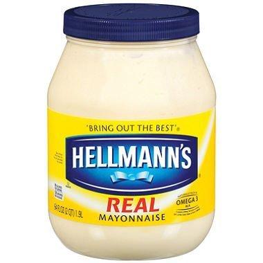 Hellmann's Real Mayonnaise - fl. o 64 National uniform free shipping New York Mall