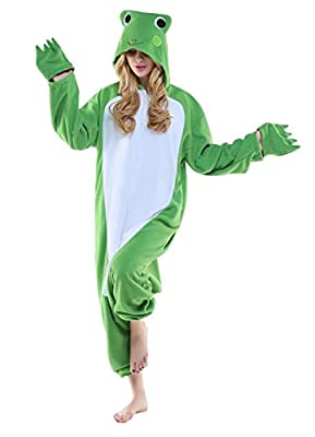 Canasour Polar Fleece Adult Onesie Cosplay Sleepsuit Pajamas