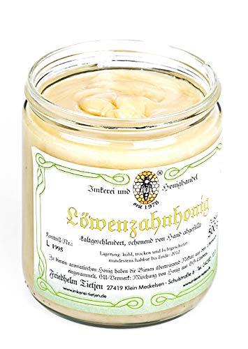Löwenzahnhonig 500g - herzhaft aromatisch und selten, naturbelassener Honig (von Imkerei Nordheide)