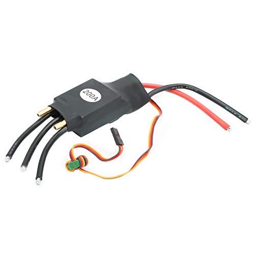 Drfeify 200A ESC Controlador de Velocidad eléctrico de refrigeración por Agua sin...