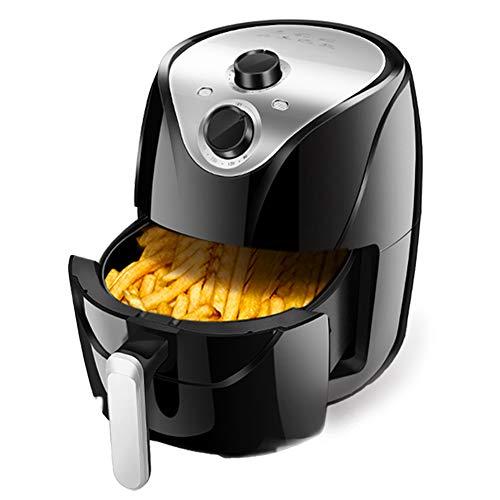 DGYAXIN Air Fryer, Freidora sin Aceite Sartén Antiadherente Ajustable de Temperatura y Tiempo de Gran Capacidad de 5.5L Cocina Saludable Baja en Grasa
